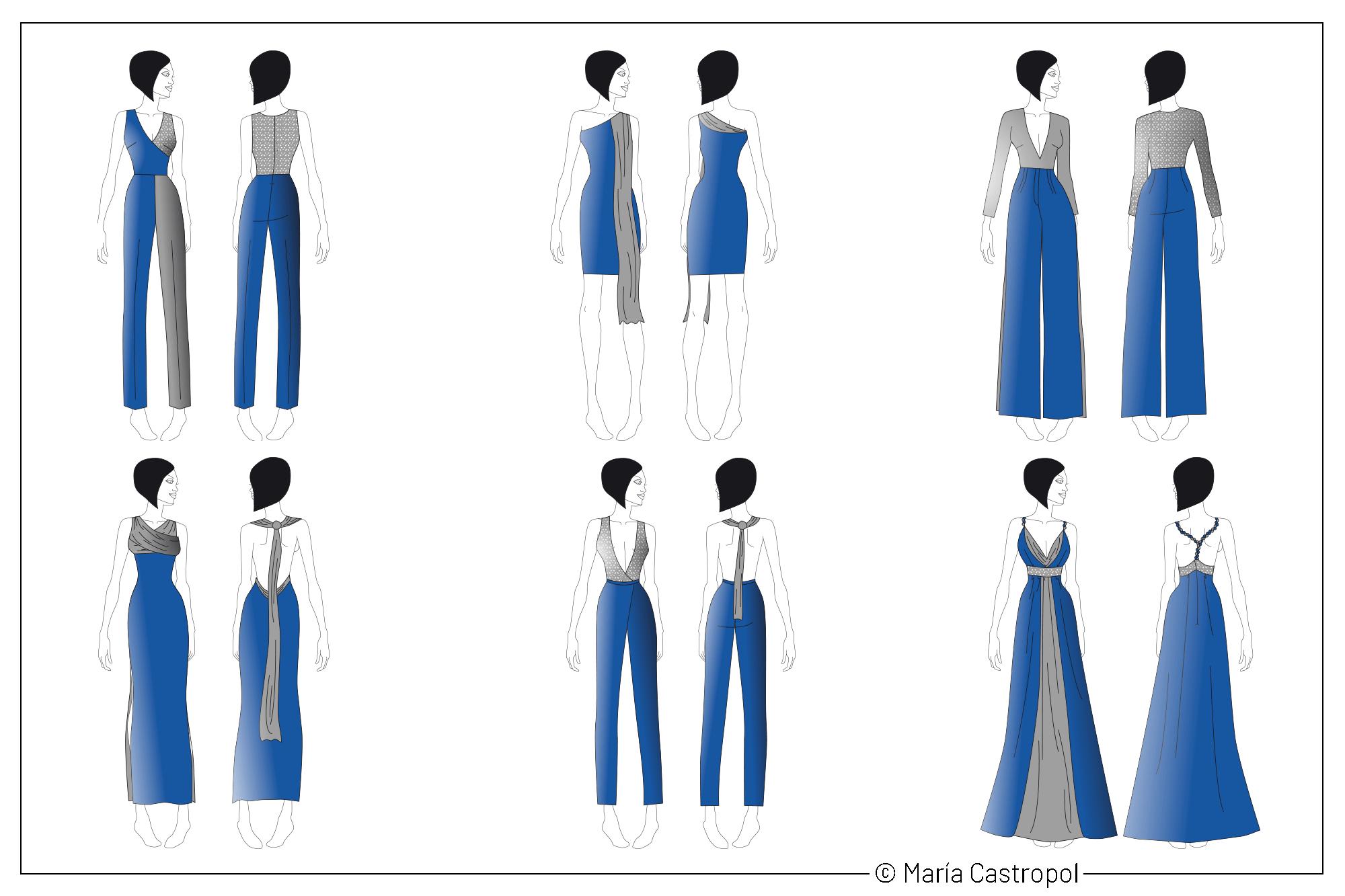 Diseños Colección Dicromía