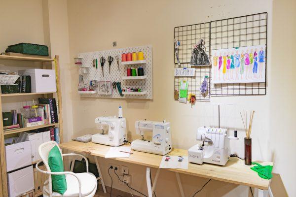 A medida, nuestra zona de costura y confección a medida
